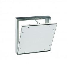Huoltoluukku 12,5mm - Kiinteille seinille - Kipsilevy + Alum. Kehys